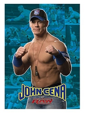 Plaid 130x160 Cm Wwe John Cena Dessin Placé, Anti-peluches 220 Gr/m2