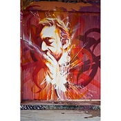 Tableau Tag Serge Gainsbourg - Toile Canvas 60x40 Cm