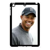 3d Tiger Woods Series, Ipad Mini 2d Cases, Tiger Wood Smile Cases For Ipad Mini 2d [black]