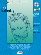 Hallyday Johnny Collection Total Guitare (lanone) Guitar Tab Book/cd
