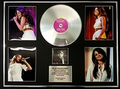 Selena Gomez/gigantic Cd Platinum Disc/record & Photo Display/ltd. Edition/stars Dance