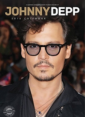 Johnny Depp 2016 Calendrier Calendar + Johnny Depp Aimant De RÉfrigÉrateur - Red Star