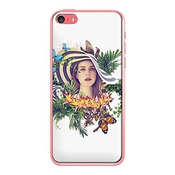 Coques-iphone - Coque Lana Del Rey Ultraviolence Pour Iphone 5c De Eleaxart - Contour Transparent