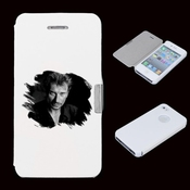 Housse Portefeuille Iphone 4 / 4s Johnny Hallyday - - Johnny 3 -