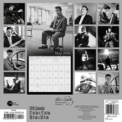 Calendrier Elvis Presley The Wertheimer Collection 2016