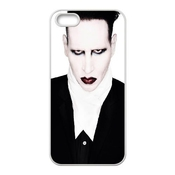 Marilyn Manson Iphone 5 5s Cell Phone Case White Zyw