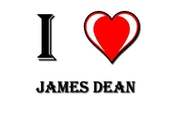 I Heart James Dean Porte-clÉs Motif I Love James Dean Porte-clÉs