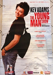 Kev Adams - The Young Man Show - 80x120 Cm Affiche / Poster