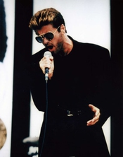 Wham George Michael Poster Approximate Size 11.7