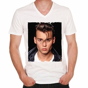 Johnny Depp Cry Baby Movie H:t-shirt,cadeau,homme,célébrité,blanc,t Shirt Homme