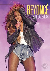 Beyonce 2016 Calendrier Calendar + Beyonce Warning Door Sign