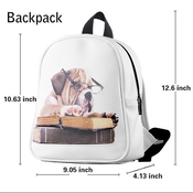 Custom New Cute Singer Selena Gomez Kids Backpack School Bag For Children Boys And Girls (small)