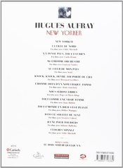 Aufray Hugues New Yorker Piano Vocal Guitar Book