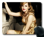 Emma Watson Pop Actress & Model Mouse Pad/mouse Mat Rectangle By Ieasycenter