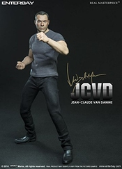 (rm-1043) Real Masterpiece: Jean-claude Van Damme 1/6 Scale Collectible Figurine By Enterbay