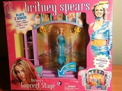 Britney Spears Concert Stage Plays 3 Songs Exclusive Limited Edition Doll 2001 By Play Along Playalongtoys.com