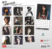 Calendrier Amy Winehouse 2016