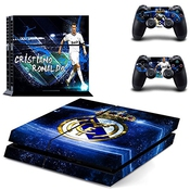 Vinyl Decal Protective Skin Cover Sticker Pour Ps4 Playstation 4 Console And Controllers - Pour Cristiano Ronaldo/no.0156