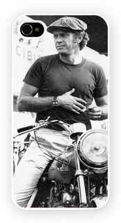 Steve Mcqueen A Iconic Male Moviestars, Iphone 4 4s, Etui De Téléphone Mobile - Encre Brillant Impression