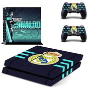 Skin Sticker Cover Vinyl Decal Protector Pour Ps4 Playstation 4 Console And Controllers - Pour Cristiano Ronaldo/no.0155