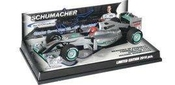 Michael Schumacher Mercedes Gp Promo Hockenheim 2010 1:43 Minichamps