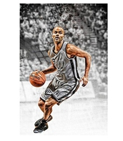 Clayton Binder Tony Parker Basketball Wall Posters Hd Large Modern Bedroom Home Decor Poster 50x75cm