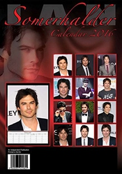 Calendrier Ian Somerhalder - 2016 Walls - Celebritys - Monthly Wall By Dream International