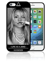 Coque Iphone Et Samsung Mariah Carey Life Is A Joke Eleven Paris Moustache Swag0283 - Iphone 6 Plus & 6s Plus
