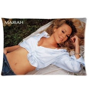 Bester Stylish Mariah Carey Pillowcase Pillow Case Cover 16x24 Inch (twin Sides)