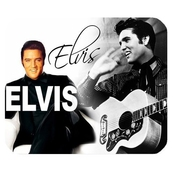 Bester Custom Superstar Elvis Presley High Quality Printing Rectangle Mouse Pad Design Your Own Computer Mousepad
