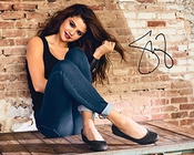 Selena Gomez # 3 10 x 8 de Laboratoire De Qualité Signé Impression Photo