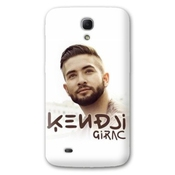 Coque Samsung Galaxy S4 Mini People - - Kendji Girac Blanc -