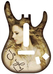 Guitar Hero 5: Band Hero Taylor Swift Guitar Faceplate Xbox 360/ps3 [import Allemand]