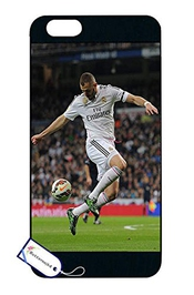 Cool Iphone 6s Plus Coque Case Karim Benzema Soccer Stars Players Hard Case For Iphone 6 Plus / Iphone 6s Plus Coque