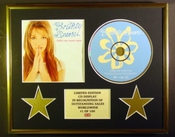 Britney Spears/cadre Cd/edition Limitee/certificat D'authenticite/...baby One More Time