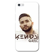 Coque Iphone 5c People - - Kendji Girac Blanc -