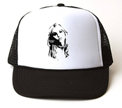 Britney Spears Side Black And White T-shirt Trucker Hat