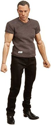 1/6 Real Masterpiece Collectible Figure / Jean-claude Van Damme Rm-1043 [japan Genuine] By Enterbay
