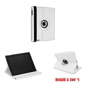 Housse Cuir Ipad Air People - - Kendji Girac Blanc -