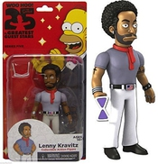 Simpsons 25 Greatest Guest Stars Lenny Kravitz Action Figure 5 Series 5 Nip By Neca