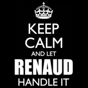 Tee Shirt Femme Keep Calm And Let Renaud Handle It By Shirtcity