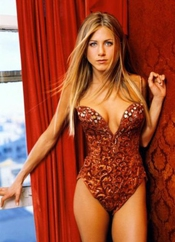 Jennifer Aniston Poster Sexy Teddy Rouge