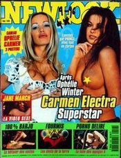 Newlook [no 156] Du 01/09/1996 - Ophelie Winter - Carmen Electra - Jane March - Fourmis - Porno Delire - Le Betisier Des Sectes.