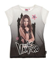 Chica Vampiro Fille Tee-shirt 2016 Collection - Blanc