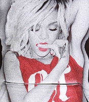 Sweat Monster Piece Rihanna Noir-rouge