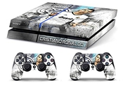 Skin Ps4 Hd Cristiano Ronaldo Real Madrid Limited Edition Playstation 4 Cover Decal Best Seller Bundle Sony Faceplates Et Skins