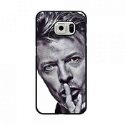 Samsung Galaxy S7 Edge Protective Slim Coque David Bowie Dual Hybrid Coque, David Bowie Coque Shellpainted Pattern Tpu Cover Coque, David Bowie Cell Coque