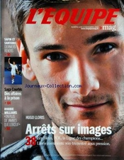 Equipe Mag (l') [no 1426] Du 14/11/2009 - Hugo Lloris - Arrets Sur Images - Safin Et Santoro Derners Revers - Saga Courbis - Des Affaires A La Prison - Robbie Williams