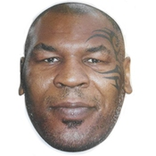 Mike Tyson Boxer Celebrity Américain Sport Star Poule Et Stag Party Fancy Dress Masque Visage