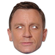Daniel Craig Celebrity Face Card Mask